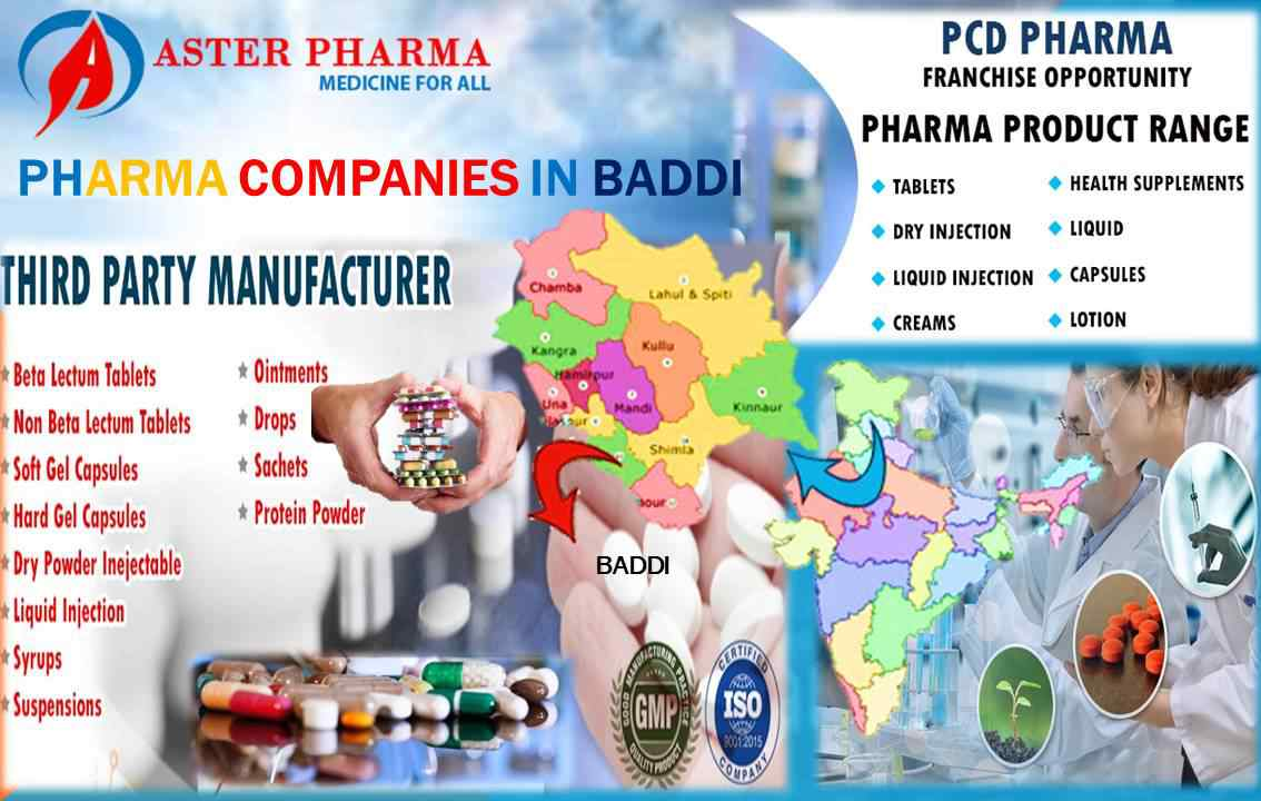 Pharma Companies in Baddi | Aster Pharma