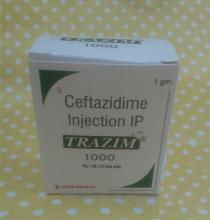 Ceftazidime 1g injection