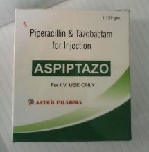 Piperacillin Tazobactam 2.25g Injection
